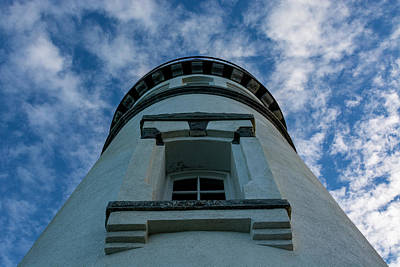 Shark Art - Heceta Head Lighthouse by Pelo Blanco Photo