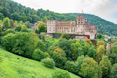 Royalty-Free and Rights-Managed Images - Heidelberg Castle by Pelo Blanco Photo