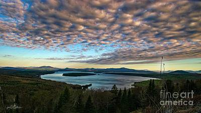 All Black On Trend - Height of the Land - Rangeley, Maine by Jan Mulherin