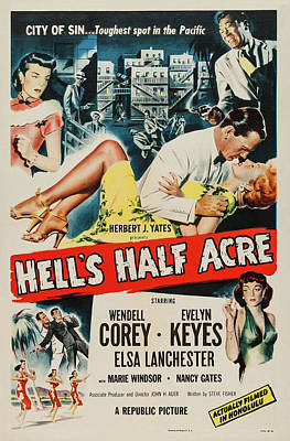 Royalty-Free and Rights-Managed Images - Hells Half Acre, with Wendell Corey and Evelyn Keyes, 1952 by Stars on Art