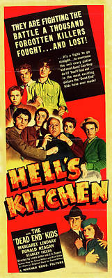 Royalty-Free and Rights-Managed Images - Hells Kitchen, with Ronald Reagan, 1939 by Stars on Art