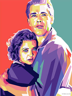 Royalty-Free and Rights-Managed Images - Henry Fonda and Sylvia Sidney by Stars on Art