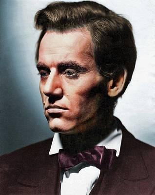 Animal Portraits - Henry Fonda colorized by Stars on Art