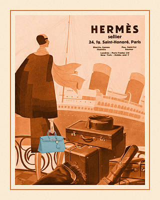 Have A Cupcake - Hermes Old And New by Andrew Fare