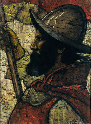 Water Droplets Sharon Johnstone - Hernando G Villa 18811952 Hijo De Espana  1932 by Artistic Rifki