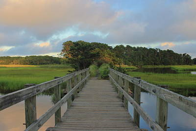 Wild Weather - Herring River Bells Neck Bridge by John Burk