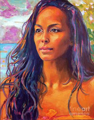 Painting - Hi'iaka, Healer of the Land by Isa Maria