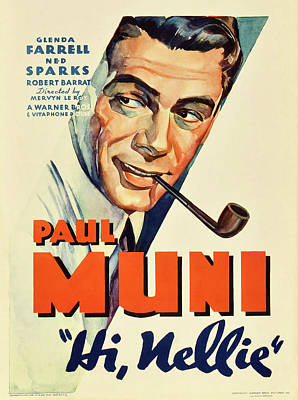Royalty-Free and Rights-Managed Images - Hi, Nellie, with Paul Muni, 1934 by Stars on Art