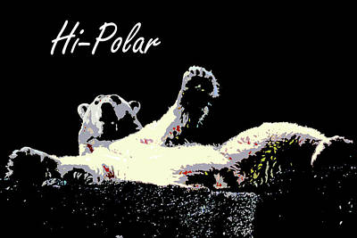 Watercolor Typographic Countries - Hi-Polar by Passport44
