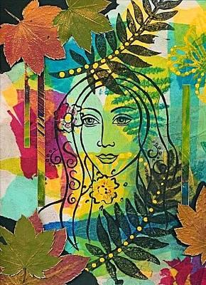 Mixed Media - Hidden Beauty by Koka Filipovic