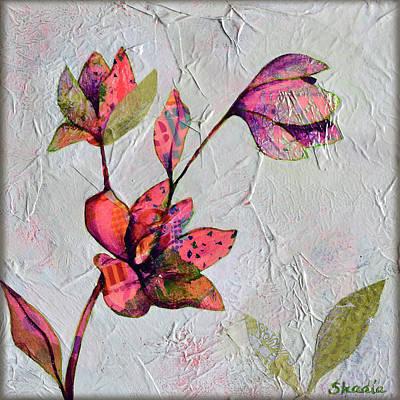 Painting - Hidden Magnolia I by Shadia Derbyshire