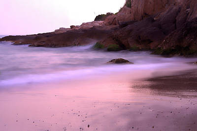 Christmas Cards - Hidden Pink Beach by ParaKrytous P