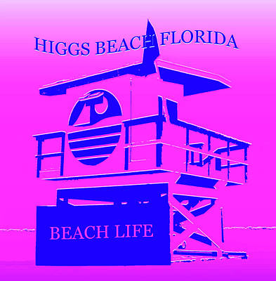 Royalty-Free and Rights-Managed Images - Higgs Beach Florida by David Lee Thompson