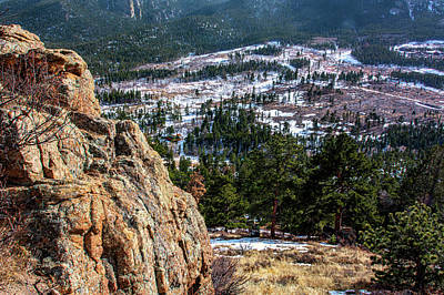 Photograph - High Above Estes Park by Douglas Wielfaert