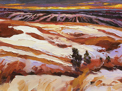 Fathers Day 1 - High Country Thaw by Steve Henderson