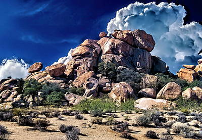 Abstract Shapes Janice Austin - High Desert Rock Formation by Russ Harris