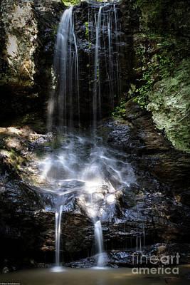 Autumn Pies - High Shoals Falls 2 by Mitch Shindelbower