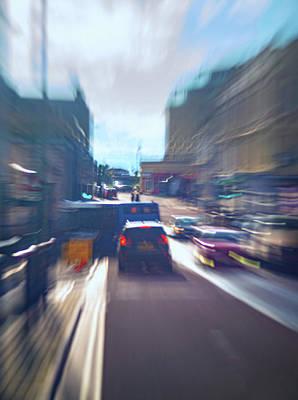 Caravaggio - High Street Traffic Impression by A J Paul