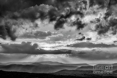 Kitchen Mark Rogan Rights Managed Images - HIghland Morning Sky Royalty-Free Image by Thomas R Fletcher
