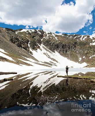 Parks - Hike to Shelf Lake Colorado by Wayne Moran