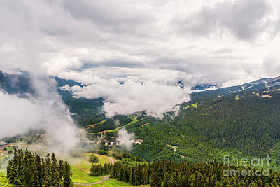 Vermeer Rights Managed Images - Hike to Whistler Mountain Royalty-Free Image by Viktor Birkus