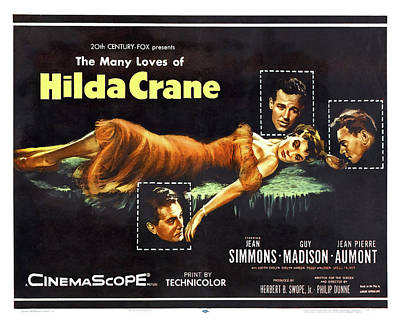 Winter Animals - Hilda Crane movie poster, with Jean Simmons, 1956 by Stars on Art