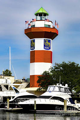 The Rolling Stones Royalty Free Images - Hilton Head Island Lighthouse Royalty-Free Image by Norma Brandsberg