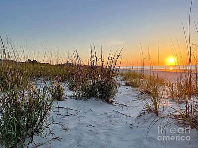 Pasta Al Dente - Hilton Head Sunrise 3593a by Jack Schultz