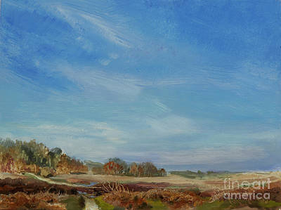 Painting - Hinchelsea in The New Forest by Kathryn Dalziel
