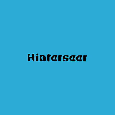Royalty-Free and Rights-Managed Images - Hinterseer by TintoDesigns