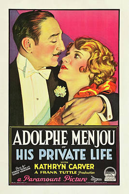 Royalty-Free and Rights-Managed Images - His Private Life 1928 by Stars on Art