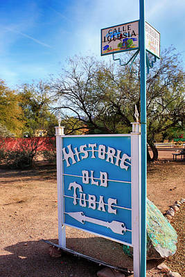 Anne Geddes - Historic Old Tubac by Chris Smith