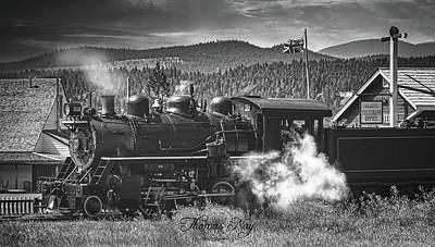 Photograph - Historic Train by Thomas Nay