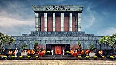 Animal Paintings David Stribbling - Ho Chi Minh Mausoleum by Maria Coulson