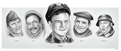 Drawings Royalty Free Images - Hogans Royalty-Free Image by Greg Joens