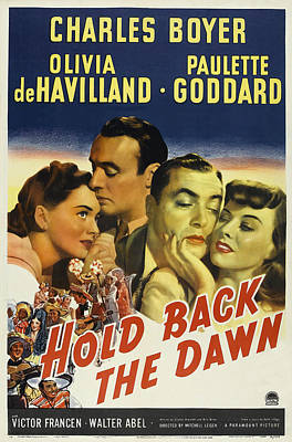 Royalty-Free and Rights-Managed Images - Hold Back the Dawn, 1941 by Stars on Art
