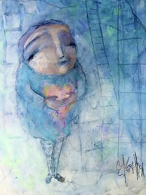 Mixed Media - Hold Onto Hope by Eleatta Diver