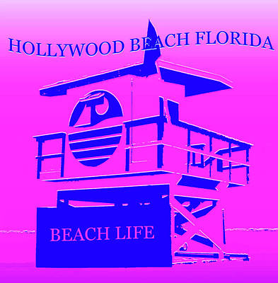 Royalty-Free and Rights-Managed Images - Hollywood Beach Florida by David Lee Thompson