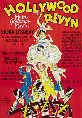 Royalty-Free and Rights-Managed Images - Hollywood Revue of 1929 by Stars on Art