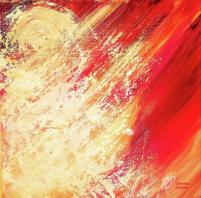 Painting - Holy Fire by Christine Cloutier