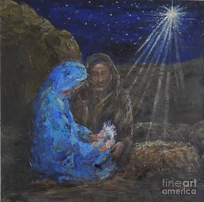 Painting - Holy Night by Elizabeth Roskam