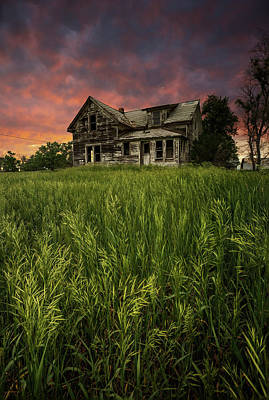 Impressionist Landscapes - Home Sweet Home by Aaron J Groen