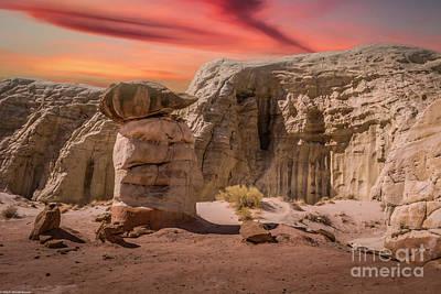 Latidude Image - Hoodoo Sunset by Mitch Shindelbower