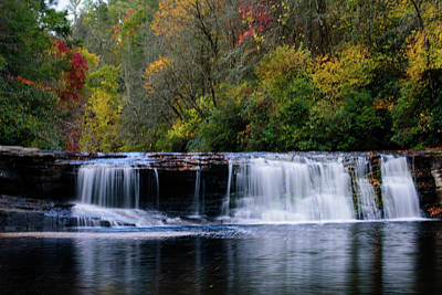 Keith Richards Royalty Free Images - Hooker Falls, NC Royalty-Free Image by Colin Hocking