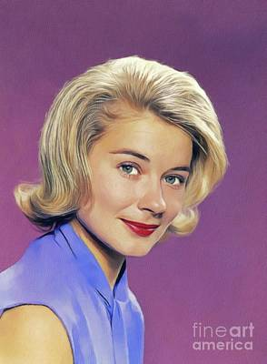 Royalty-Free and Rights-Managed Images - Hope Lange, Vintage Actress by Esoterica Art Agency