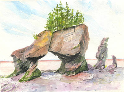 Granger Royalty Free Images - Hopewell Rocks Royalty-Free Image by Taphath Foose