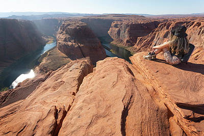 Royalty-Free and Rights-Managed Images - Horseshoe Bend 11 by Ricky Barnard