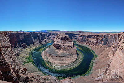 Royalty-Free and Rights-Managed Images - Horseshoe Bend  by Michael Ver Sprill