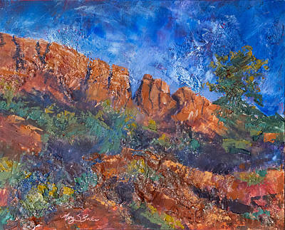 Painting - Horsetooth Sonata by Mary Benke