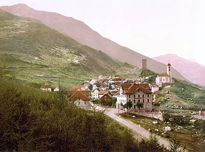 Royalty-Free and Rights-Managed Images - Hospental, Uri, Switzerland 1890. by Joe Vella